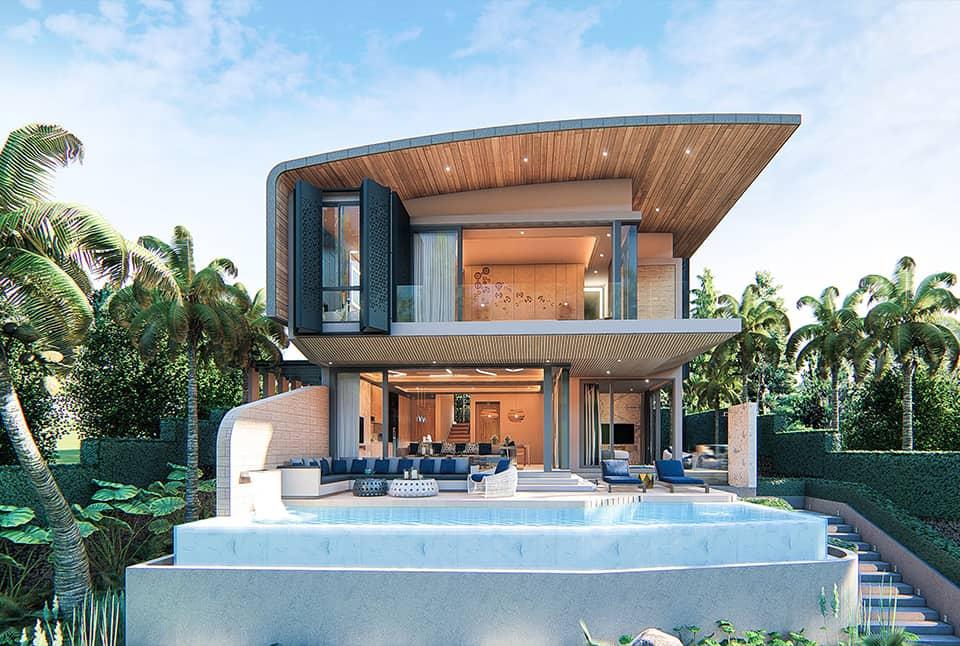 High Standing Villa in Rawai