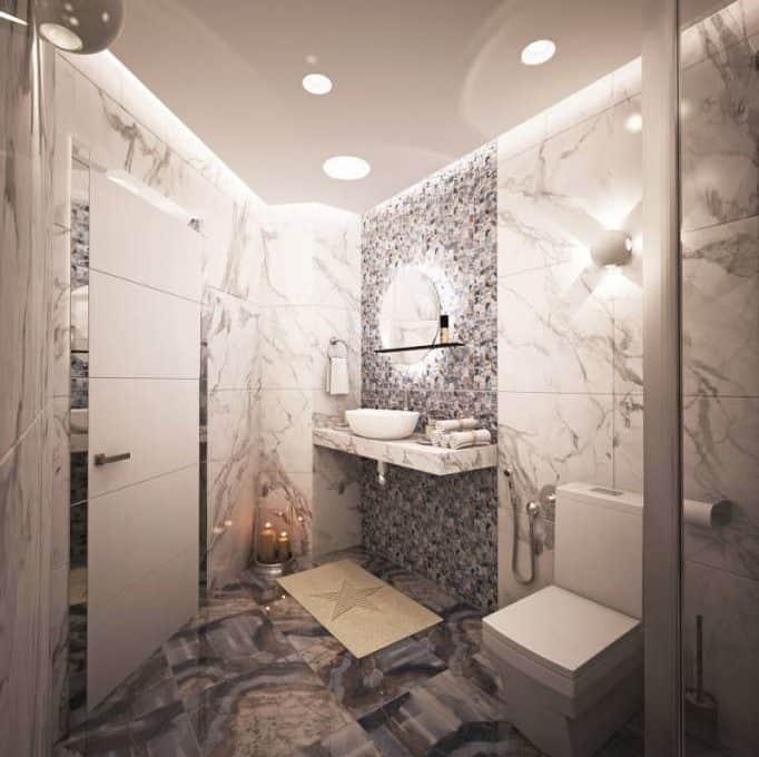 20_Deluxe unit, 57 m2, bathroom