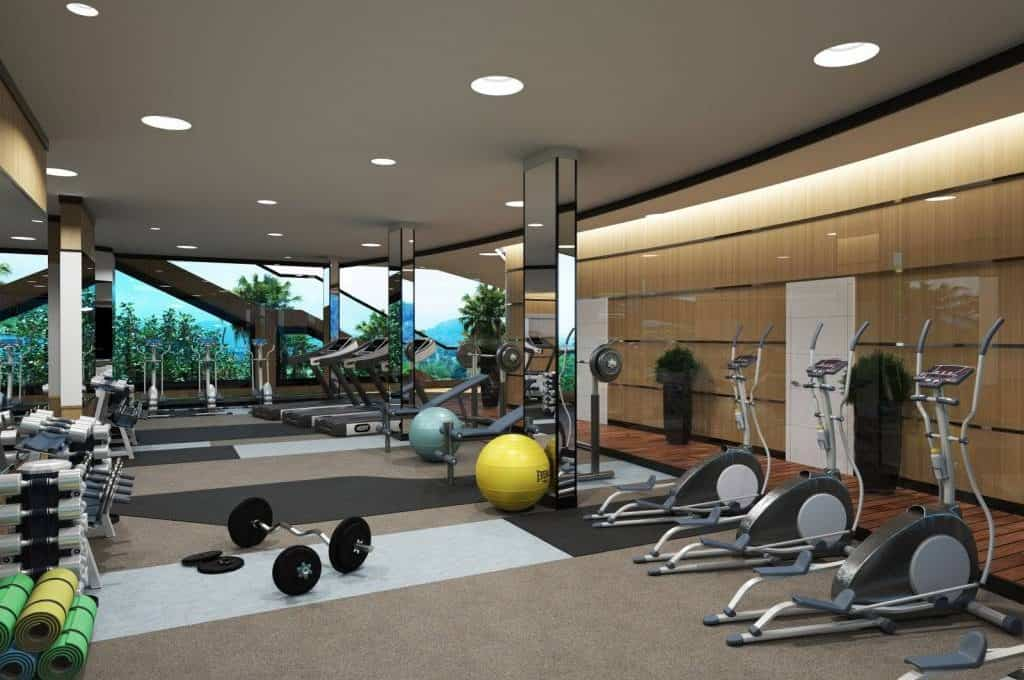 8_Rooftop fitness center