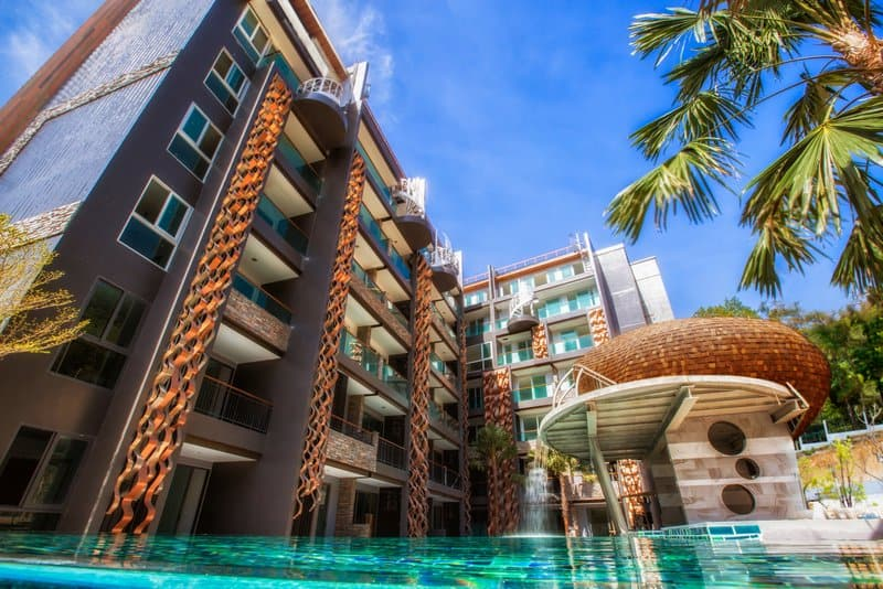 Condo 47 Sqm with garden for Sale in Patong