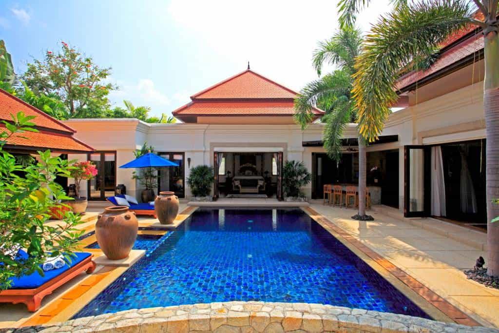 Luxury 5 bedroom private  pool villa in Sai Taan Bang Tao