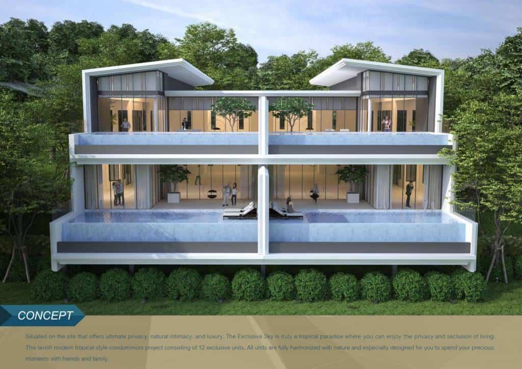 Exclusive condominium in Kamala