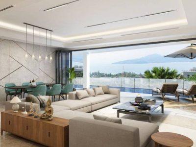 luxurious sea view condo