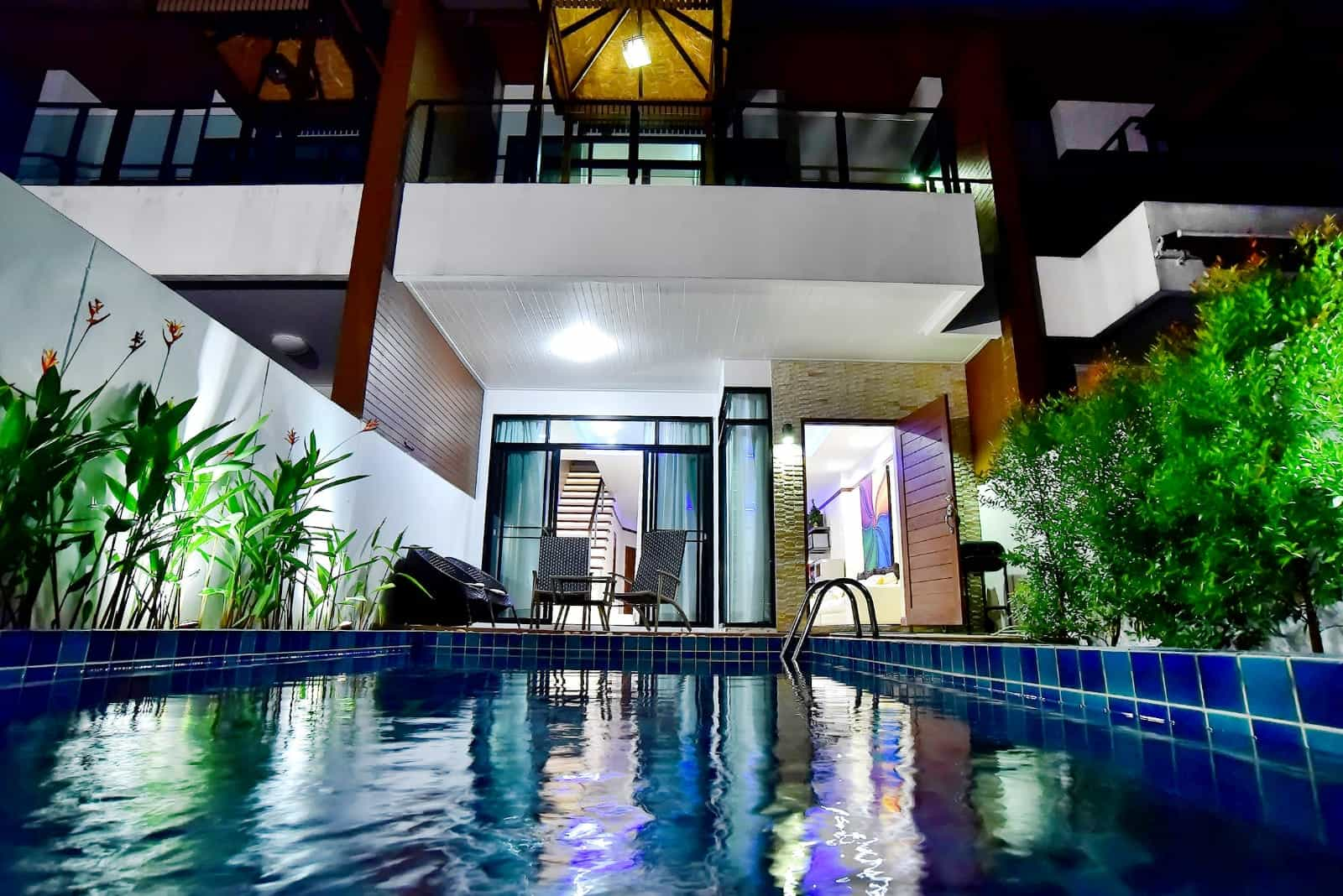 Townhouse with Private Pool in Kamala